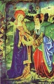 Esta tapeçaria do Século XIV nos mostra um incomum objeto no céu.