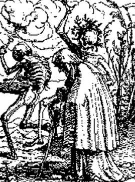 No imaginário medieval, a morte ganhou fama de uma vilã insaciável