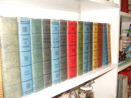 Livros adquiridos em BH no ano de 2007
