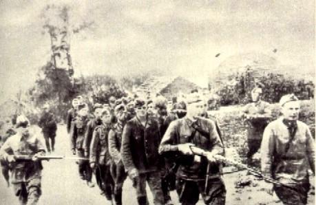 Alemães prisioneiros