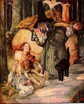 Na época, eu achava que a bruxa era apenas uma velha má que gostava de comer crianças.