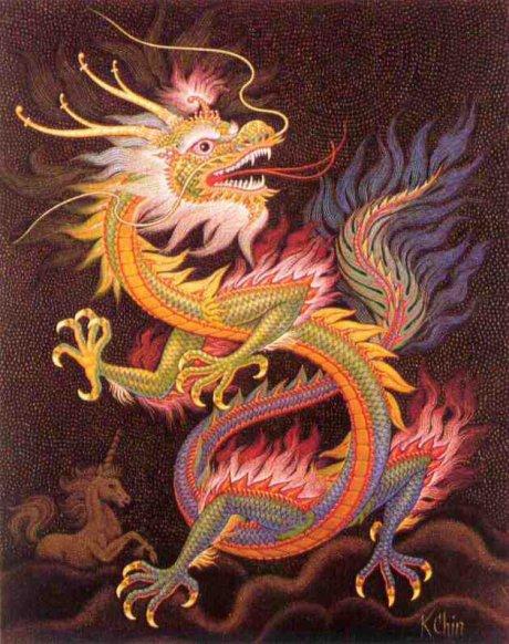 Na China temos os exemplares mais bem definidos desse tipo de dragão.