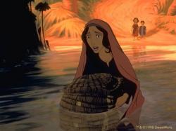 Moisés, que passou pela provação do cesto flutuante ainda bebê.