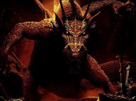 O dragão passou a guardar os tesouros incalculáveis que esperavam pelo herói no outro