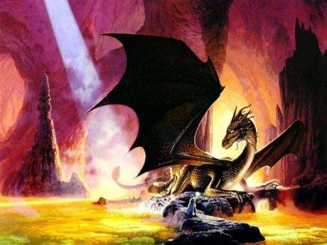 Subterrâneo e ao mesmo tempo ígneo,  naturezas aparentemente distintas se fundem na figura híbrida do dragão.