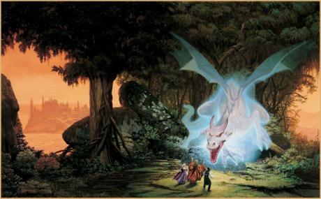 1) O engolidor permanece no mesmo lugar na floresta - entre povos isolados e que vivem em círculos fechados.