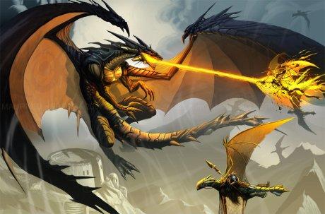 Reminescências do dragão benfazejo criam condições propícias para o surgimento desse tipo de combate.
